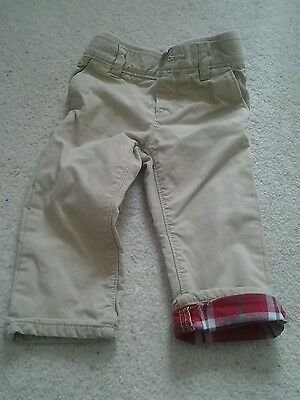 Gap Boys 12-18 Months Tan Trousers