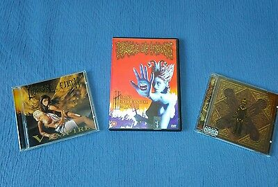 Cradle of filth pack 2cd and 2dvd