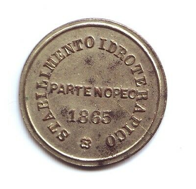 1865 Italy? Medal or Token