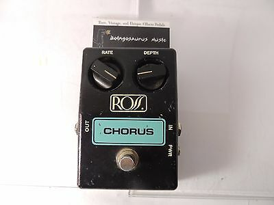 Vintage Ross Analog Chorus Effects Pedal Model R88  Free Usa Shipping