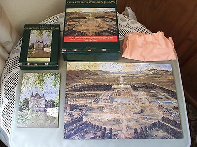 wentworth collector's wooden jigsaw puzzles X2 250 pieces 75 pieces great (con)