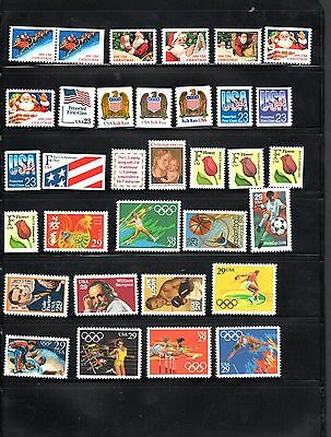 9223 Usa Collection Lot Of Stamps & Blocs Mnh