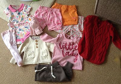 Lovely baby girl bundle 3-6 month - used and new