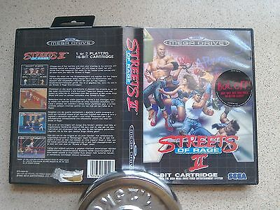 Streets of Rage 2 Empty BOX ONLY - For Sega Mega Drive Game