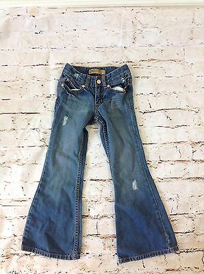Old Navy Girls Jeans Hipster Flare Size 6 Slim