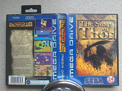 The Story Of Thor Empty BOX ONLY - For Sega Mega Drive Game