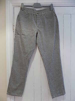 Urban Ice men's stylish checked cotton trousers size W30 BNWT