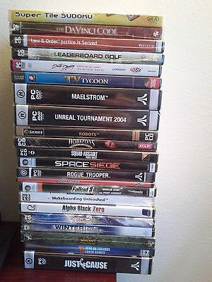 lot of 22  pc   games.