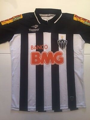 Atletico Mineiro Official Jersey Brazil Football Club Size L Shirt Topper