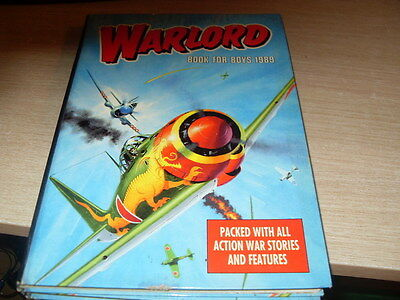 Warlord Annual For Boys 1989
