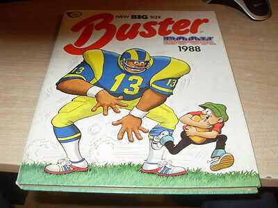 Buster Book 1988 New Big Size