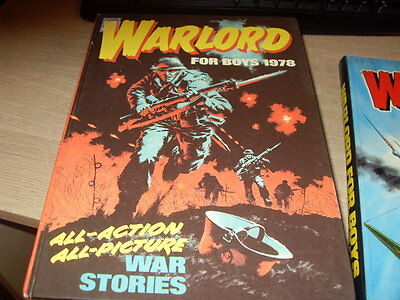 Warlord Annual For Boys 1978