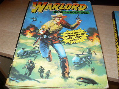 Warlord Annual For Boys 1983