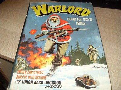 Warlord Annual For Boys 1985