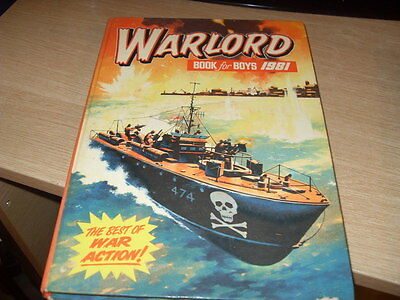 Warlord Annual For Boys 1981