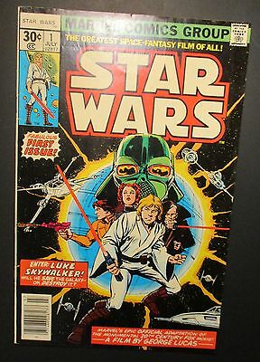 Star Wars Vintage #1 First Issue 1977 Old Comic Books