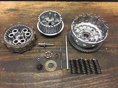 06-07 Suzuki GSXR 600 750 Engine Complete Clutch Hub Assembly Pressure Basket