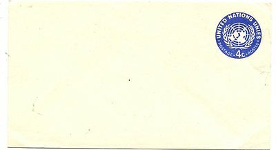 United Nations Stamps: early unused Postal Stationery envelope
