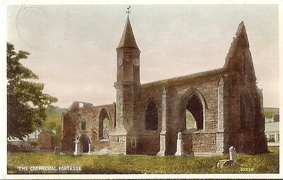 Lovely Old Postcard - The Cathedral - Fortrose - Inverness-Shire 1950