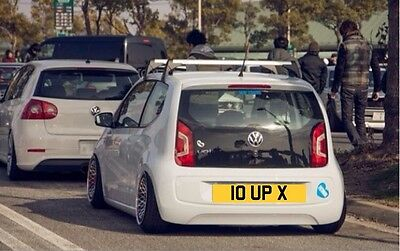 VW UP ❗️Private Plate - Move Up - Take Up - High Up Dub [ 10 UP X ] No Reserve