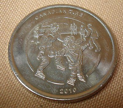 Canadian Tire Limited Edition 2010 Collector Coin Skating