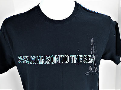 Small Jack Johnson to the Sea T Shirt Organic Cotton Folk Music USA