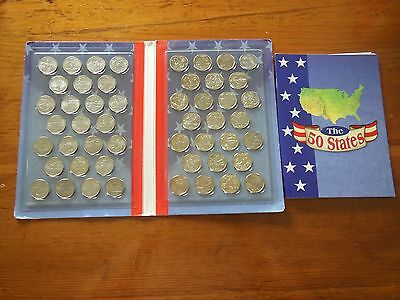 50 state quarters set with book about the states, Philadelphia P, Pace Products