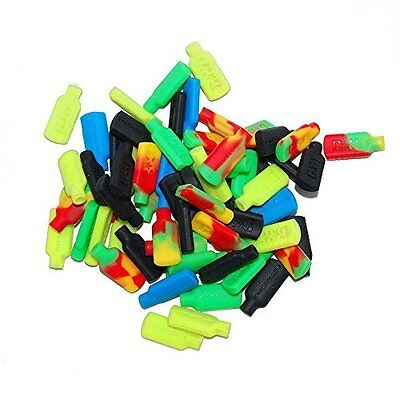Non-stick Silicone Tips for Concentrate Wax Pick Dabber Tools Assorted Mix