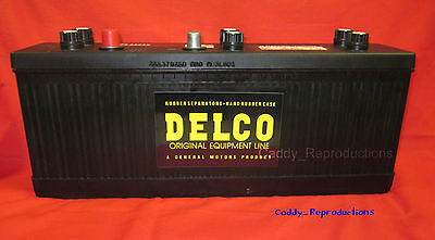 1953 1954 1955 1956 Cadillac Battery DRY - New - 12 Volt