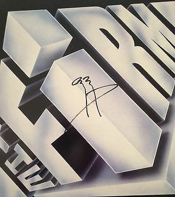 The Firm LP Autographed By Jimmy Page