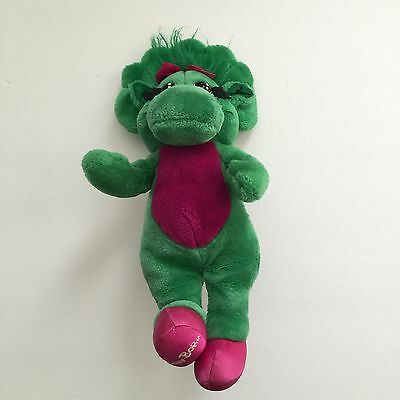 "BABY BOP  Barney the Dinosaur Lyons Group 14"" Plush Stuffed Doll 1990s 1992 Toy"