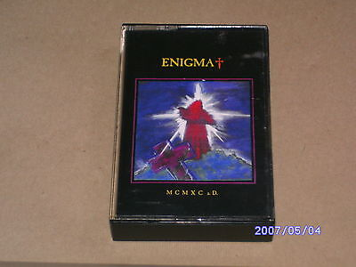 ENIGMA - MCMXCaD - MUSIC CASSETTE TAPE ALBUM - 1990 - VIRGIN RECORDS - MCVIR 1