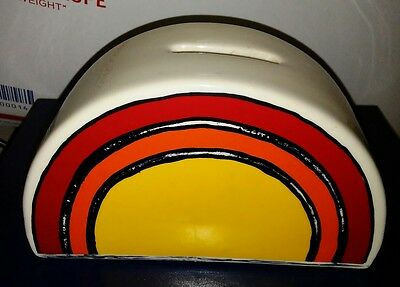 East Ohio Gas The Sunshine People CNG Company  Logo ceramic bank