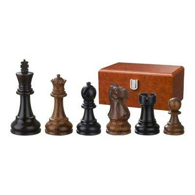 Chess Figures - skipio - Wood - Noble Staunton - Kings Height 95 mm