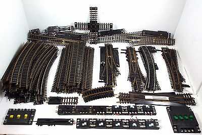 Lot of 103 HO Atlas Snap Track Straight Curve Switch Control Connector Selector