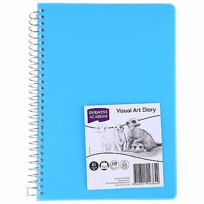 Derwent Coloured Visual Art Diary A5 120 Pages
