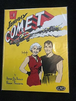 Johnny Comet #1 July 1967 Peter De Paolo and Frank Frazetta VF/NM beauty!