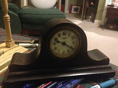 Miniature Desk Mantle New Haven Clock 8 X 4 Inches