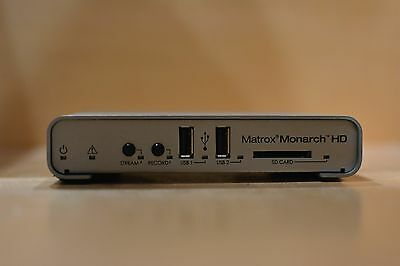 Matrox MONARCHHD Monarch HD video streaming and recording appliance