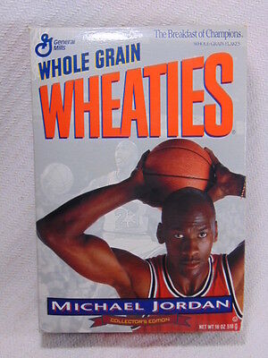Collectible Michael Jordan Unopened Wheaties Box Collectors Edition  VGC