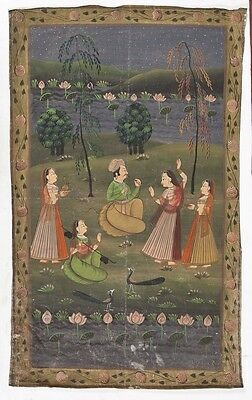 Large antique Indian painting