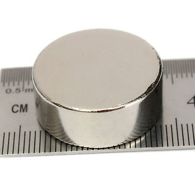 1/5x N50 Strong Disc Cylinder Round Magnets 25mm x 10mm Rare Earth Neodymium
