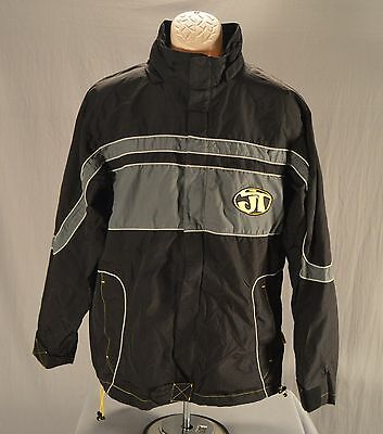 JT USA 7071 Medium Paintball Full-Zip Black Jacket Jersey