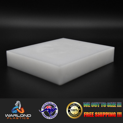 HDPE SHEET / WHITE - NATURAL / A4 SIZE 297x210x3mm / FREE SHIPPING!!!