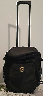 United parcel service UPS insulated cooler bag on wheels w/ handle by Lands End