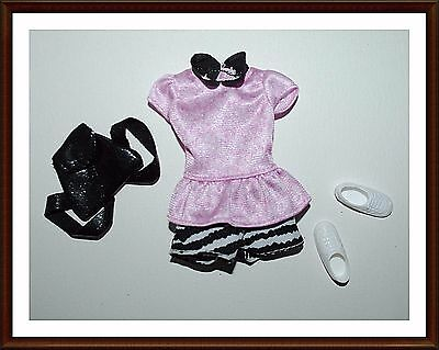 Adorable Set Of Clothes - For Stacie Doll  - W/ Shoes  - Barbie - Lot 156
