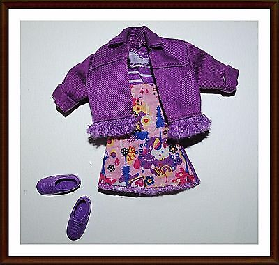 Adorable Set Of Clothes - For Stacie Doll  - W/ Shoes  - Barbie - Lot 161