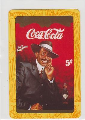 1 Single  Swap/playing Card   -   Coca  Cola   Sold  Everywhere