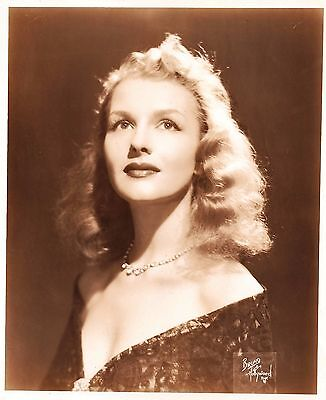 UNKNOW ACTRESS by Bruno of Hollywood 1940's Photo Vintage Original