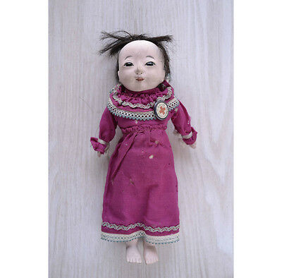 Japanese Taisho antique ICHIMATSU NINGYO Doll cry PI-! 061702